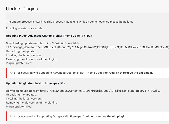 plugins not updating locally support local by flywheel