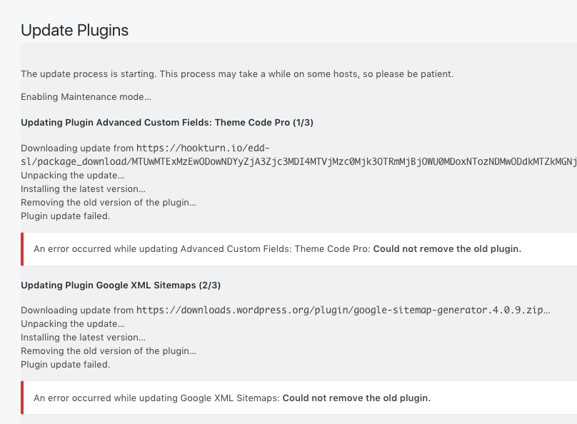 Plugins not updating locally - Support - Local by Flywheel