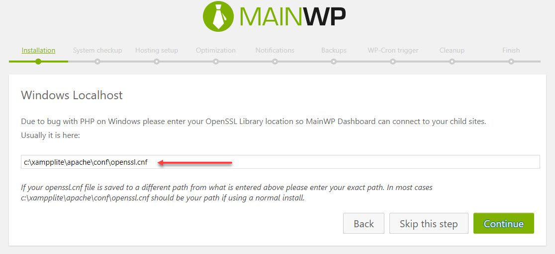 Where Can I Find this File? (Needed for using MainWP) - Support