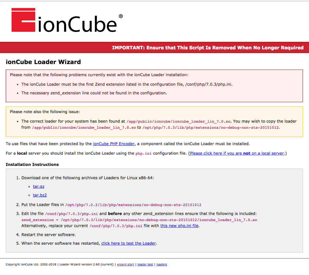 How To Update Ioncube Loader