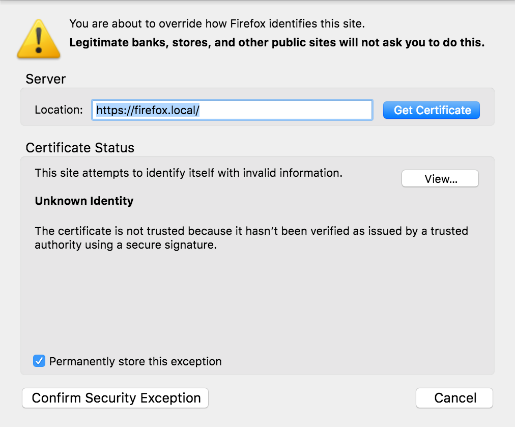 Firefox 57 Quantum Not Recognizing Ssl Support Local By Flywheel